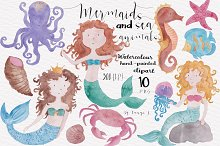 Watercolor Nautical Collection