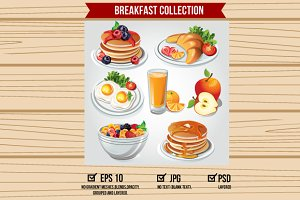 Breakfast Item Set