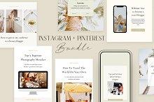 Social Media Pack | CANVA by  in Social Media