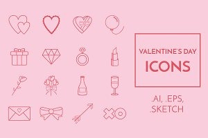 16 Valentine's Day Icons