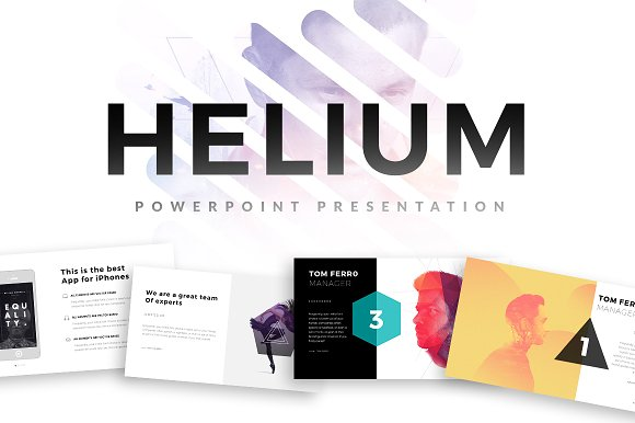50 stunning presentation templates you wont believe are powerpoint helium powerpoint template toneelgroepblik Gallery