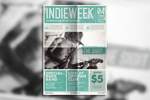 Indie Newspaper Poster