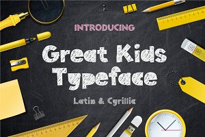 Great kids Typeface