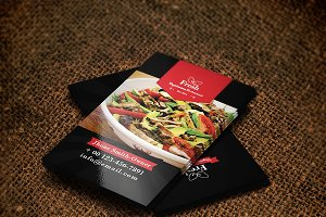 VegetarianRestaurant Business Card
