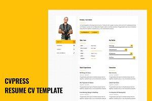 CVPress - Resume CV Site Template