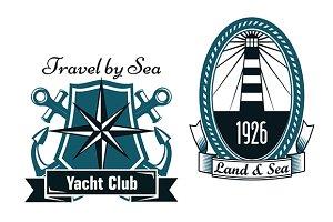 Marine emblems