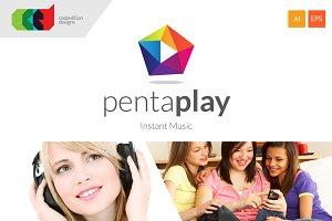 PentaPlay - Logo + Free BC