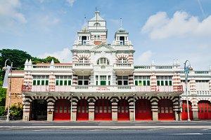 Hi Res Fire Station Building