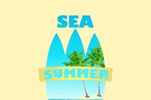 Sea Surf Print