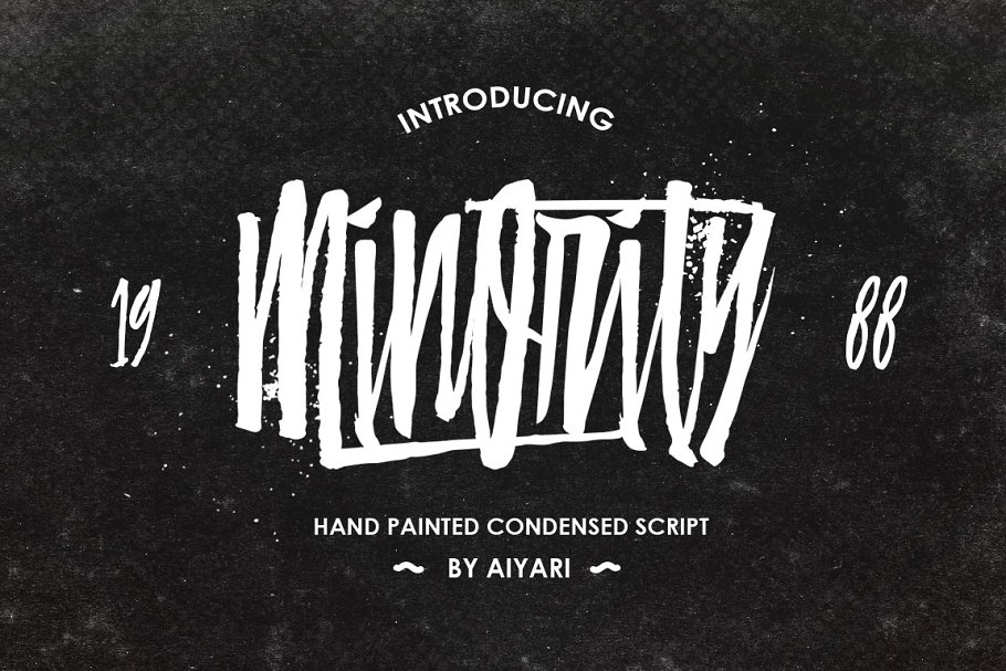 079439c8eab Minority + Extras ~ Script Fonts ~ Creative Market