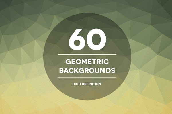 60 Geometric Backgrounds