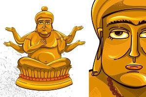 Budha Six Hand