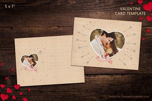 Valentine Card Template 01