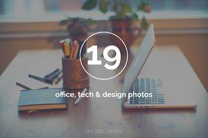Office, tech & design photo bundle
