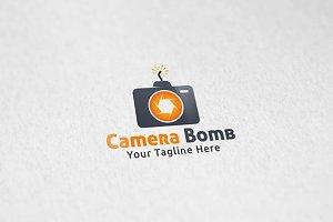 Camera Bomb - Logo Template