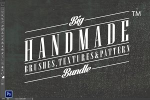 120+ Brushes,27 Textures BUNDLE