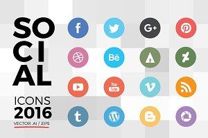 Nice Social Icons 2