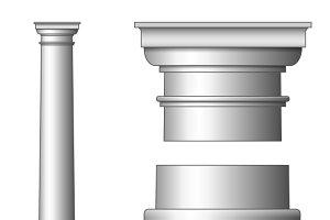 Classic Ancient Column