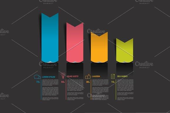 Text template. Arrow chart. - Presentations