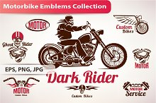 Bike Emblems and Labels Collection