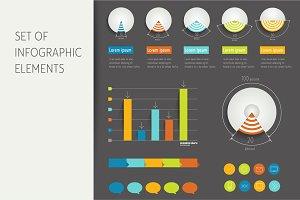 Infographic set.