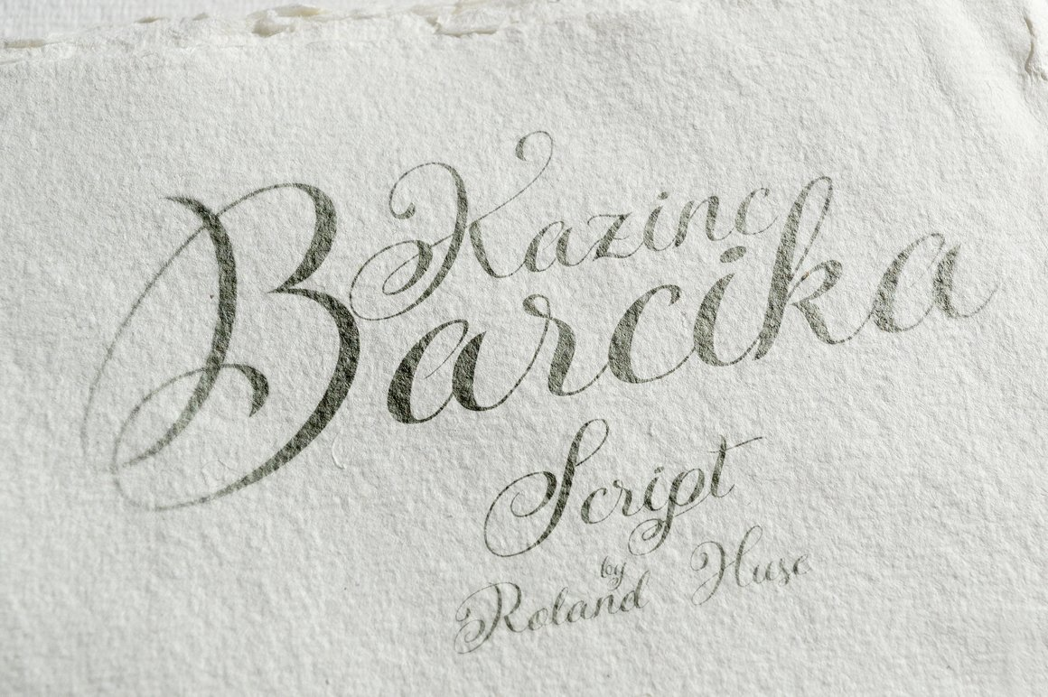 Kazincbarcika Script Fonts Creative Market