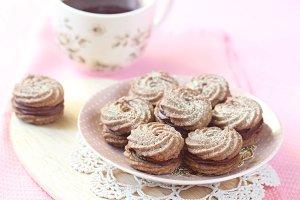Viennese Sable Cookies