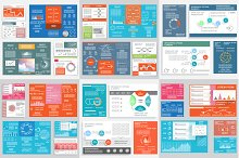 Vector infographic templates