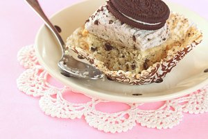 Chocolate Cookie Cupcake