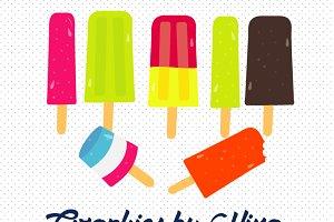 Ice Popsicles