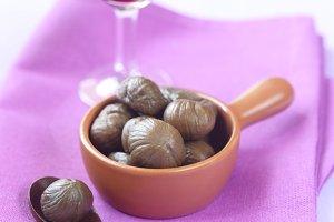 Peeled Chestnuts