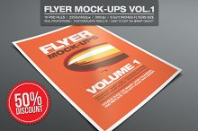 Flyer Mock-ups Vol.1