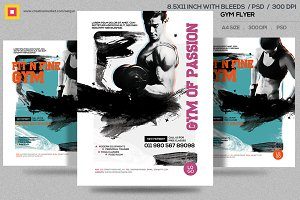 Fitness Flyer / Gym Flyer V12