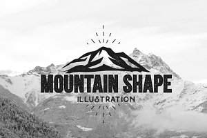 Mountain Vector Illustrations