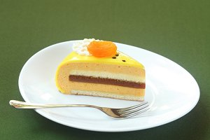 Piece of Honey, Sea-buckthorn Cake