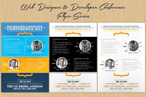 Web Designer & Developer Flyers