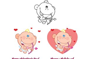 Cute Baby Cupid Collection