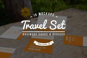 10 Fresh Business Card Mockups vol.2