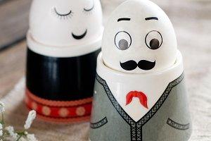 Hipster eggs