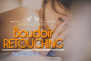 Boudoir Retouching Photoshop Actions