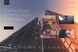 Business Pack15 Coming Soon Template