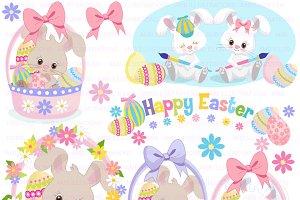 Easter Bunny Clipart AMB-1169