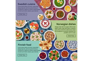 Finnish, norwegian, swedish food