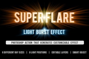 SuperFlare - Back Light Burst Action