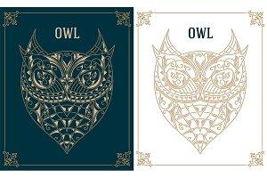 Vintage Owl design