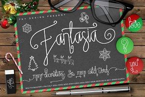 Fantasia Monoline Calligraphy +Bonus