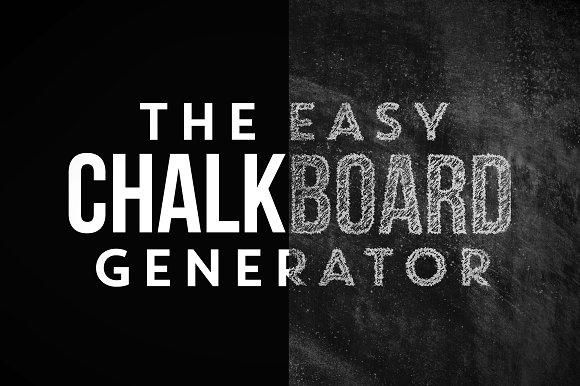 chalkboard generator textures creative market