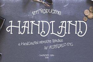 Handland Typeface