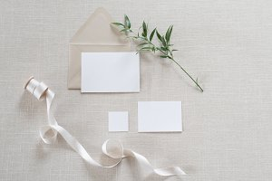 Stock Photo | Invitation Mockup