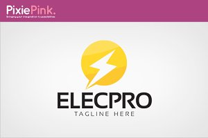Electronic Pro Logo Template